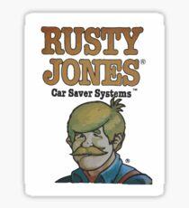 Rusty Jones Rust Prevention HiFi Sticker Print Sticker