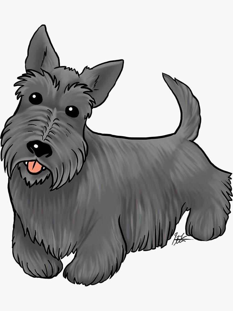 Scottish Terrier by jameson9101322
