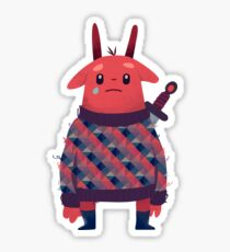Sword Bunny Sticker