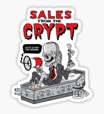 Sales From The Crypt Sticker Sticker