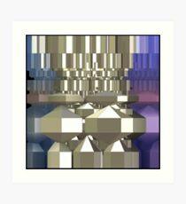 Crystal Synthesiser Art Print