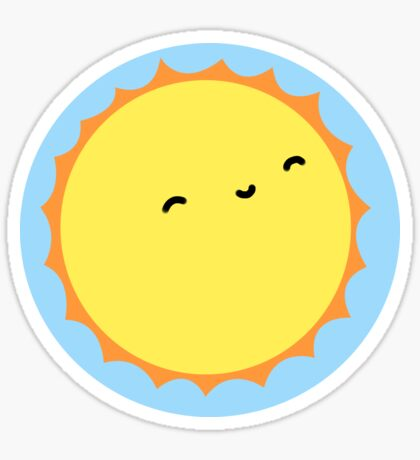 The Sun - Sticker Sticker