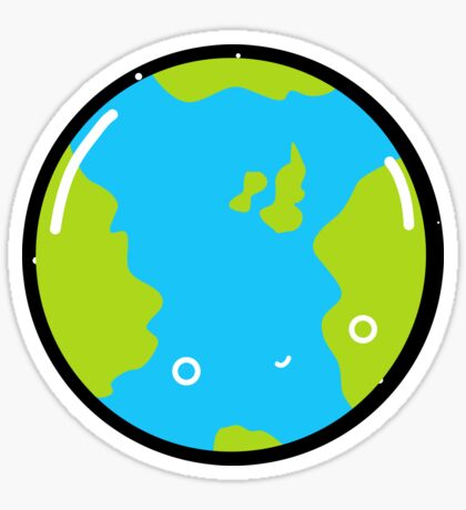 The Earth - Sticker Sticker