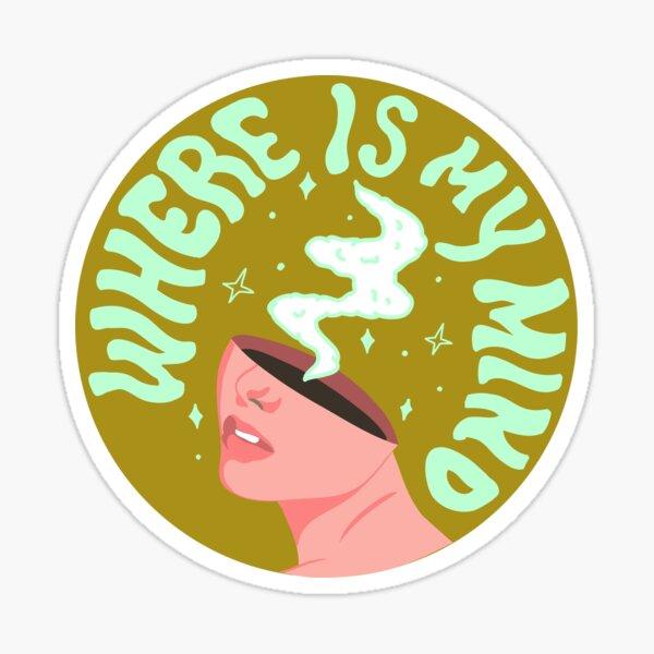 Where is my mind Sticker