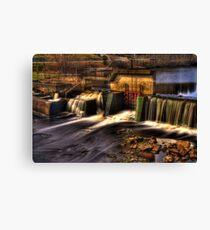 Milton Dam HDR Canvas Print