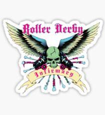 Roller Derby Infirmary Sticker Sticker