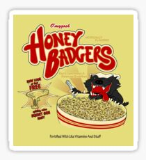 Honey Badgers Sticker