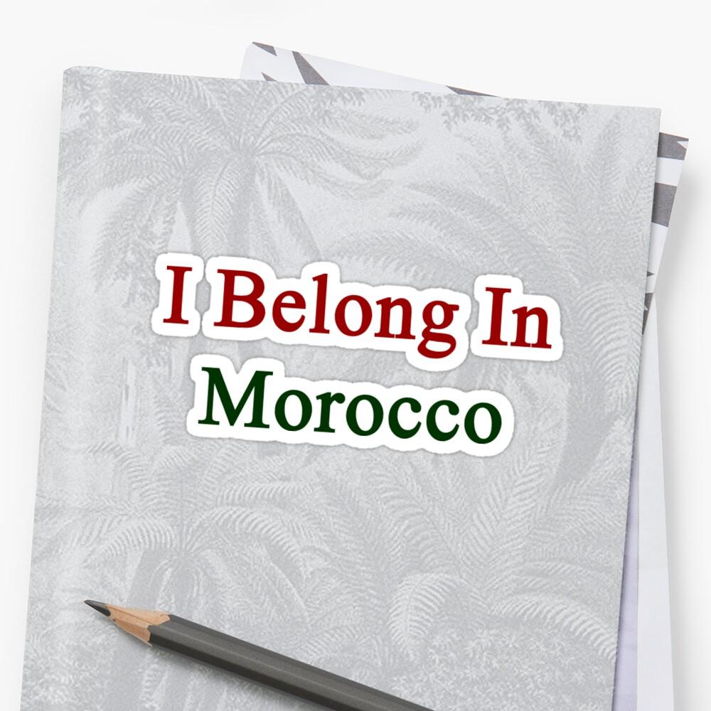 I Belong In Morocco by supernova23
