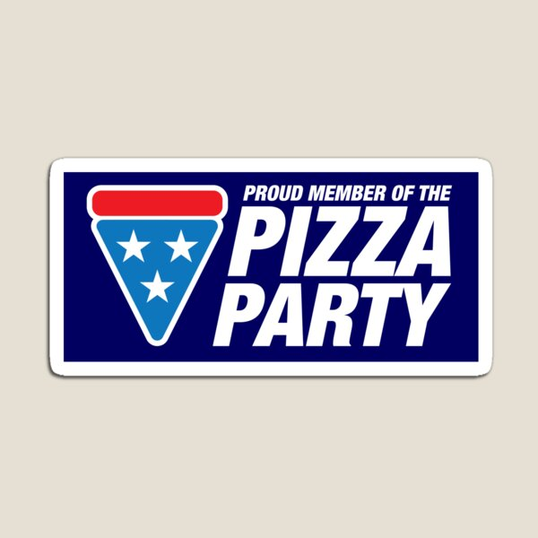 PIZZA PARTY (sticker) Magnet