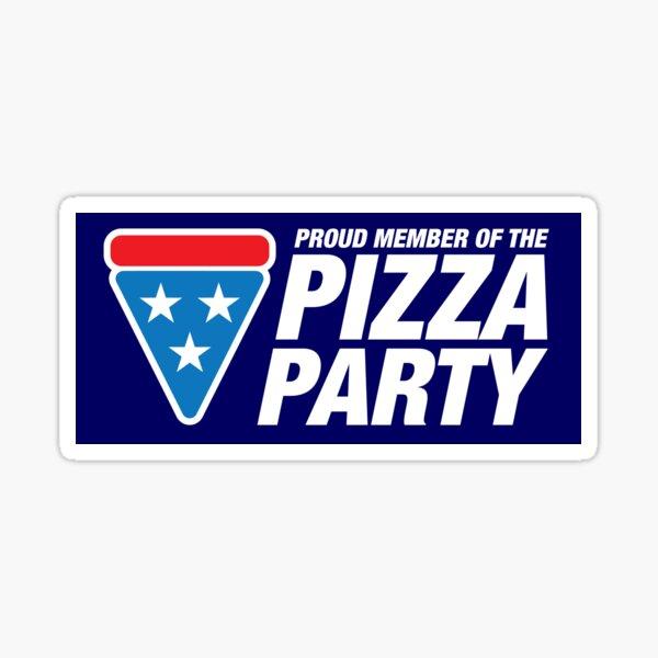 PIZZA PARTY (sticker) Sticker