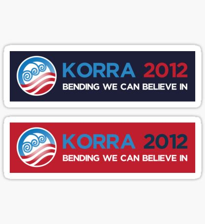 Korra 2012 Decal Sticker
