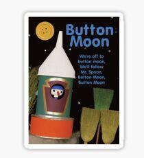 Button Moon Sticker