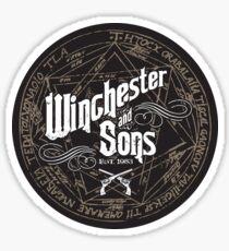 Winchester & Sons (Sigil) Sticker Sticker