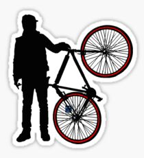 Fixed Gear pride! Sticker