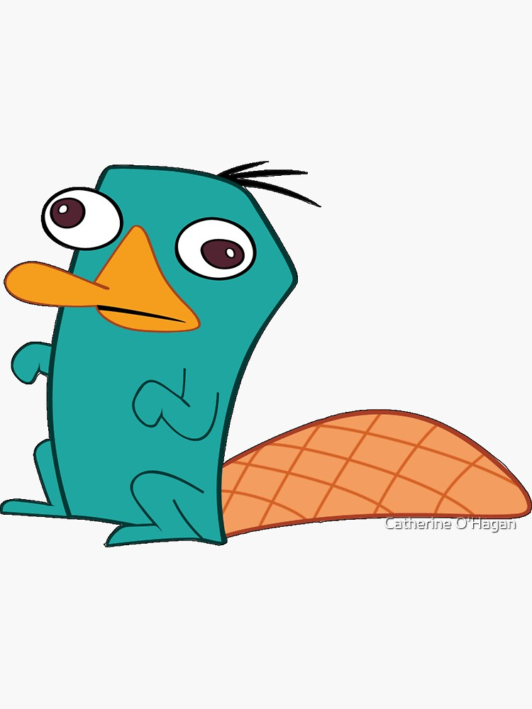Perry The Platypus by catherineohagan