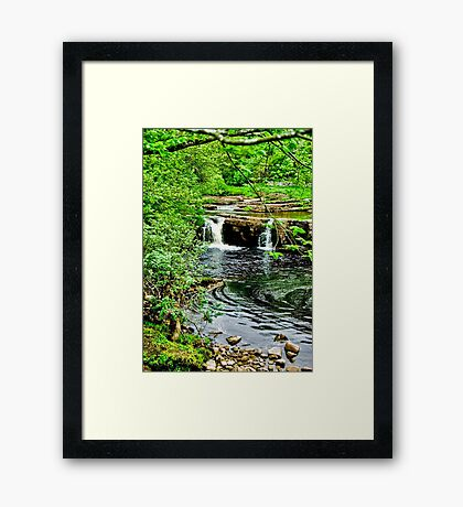 River Swale - Keld Framed Print