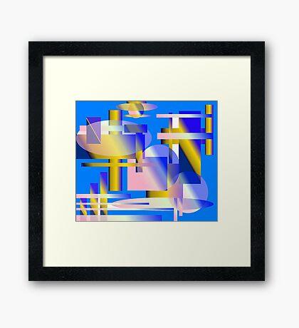 Aerodynamics Framed Print