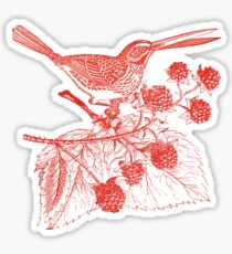 The Bramblebird Sticker
