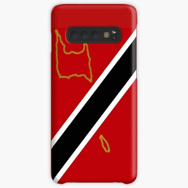 Trinidad and Tobago Flag with Map of Trinidad and Tobago Samsung Galaxy Snap Case