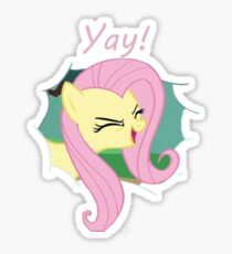 Yay!! Fluttershy Sticker