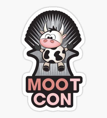 MOOt Con! Sticker