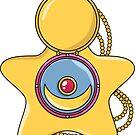 Star Locket by meatballhead