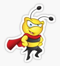 Super Bee - Hands On Hips Sticker