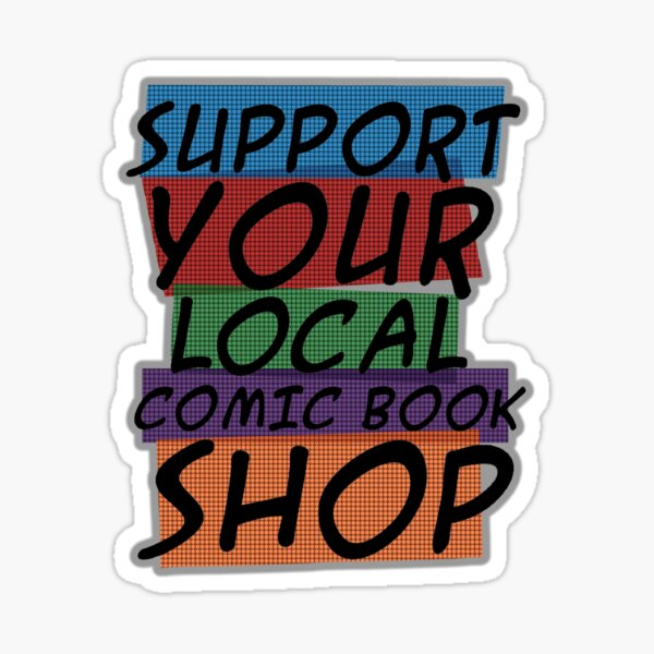 Support Your Store Sticker