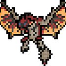 Pixel Ratholos Wyvern Sticker by PixelBlock