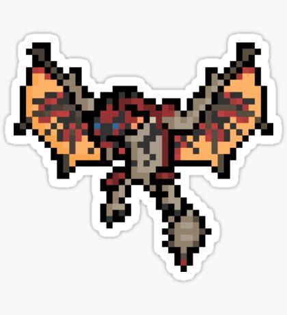 Pixel Ratholos Wyvern Sticker Sticker