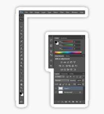 Photoshop CS6 Tools Set Sticker