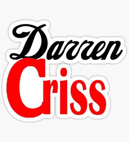 Darren Criss Diet Coke Design Sticker