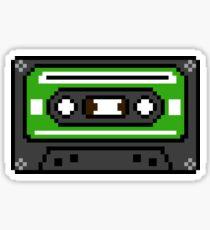 8 bit Old School Cassette Tape Sticker
