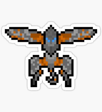 Pixel Metal Gear Ray Sticker Sticker