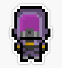 Pixel Tali'Zorah Vas Normandy Sticker Sticker