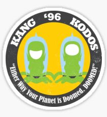 Vote Kang - Kodos '96 — Sticker Sticker