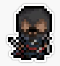 Ezio, The Pixel Assassin Sticker
