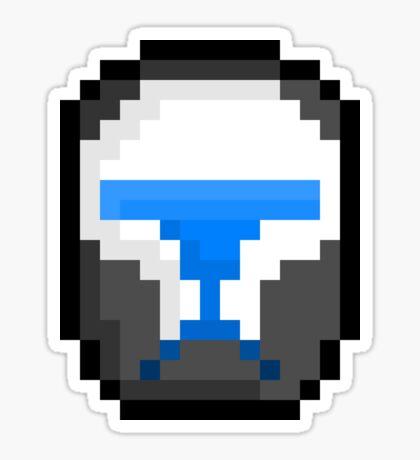 "Pixel Rc 01/262 ""Scorch"" Sticker"