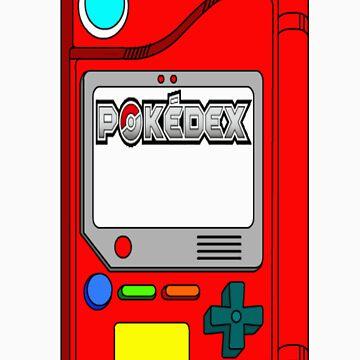 Pokedex - Pokemon t-shirt by HowardWalsh