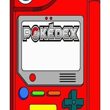 pokedex iphone case by HowardWalsh