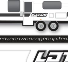 LOTUS Caravan Group Sticker