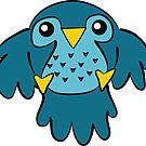 Blue Bird by ArtFr33k