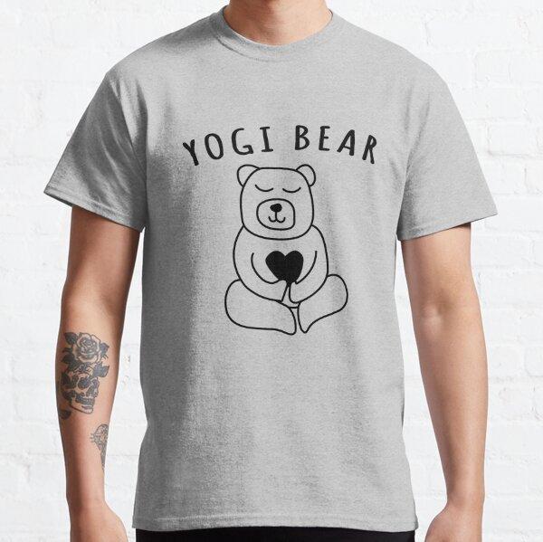 Yogi Bear Boo Boo Vintage Retro Classic Cartoon Old School Throw Back T Shirt