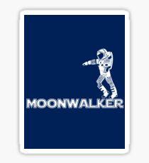 Moonwalker Sticker Sticker