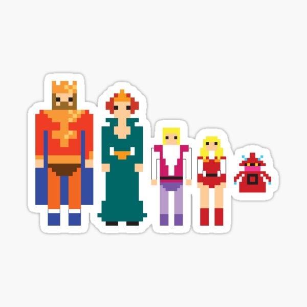 MotU Royal Family sticker set Sticker