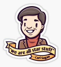 Carl Sagan Sticker
