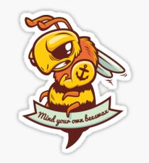 Mind your own Beeswax! Sticker