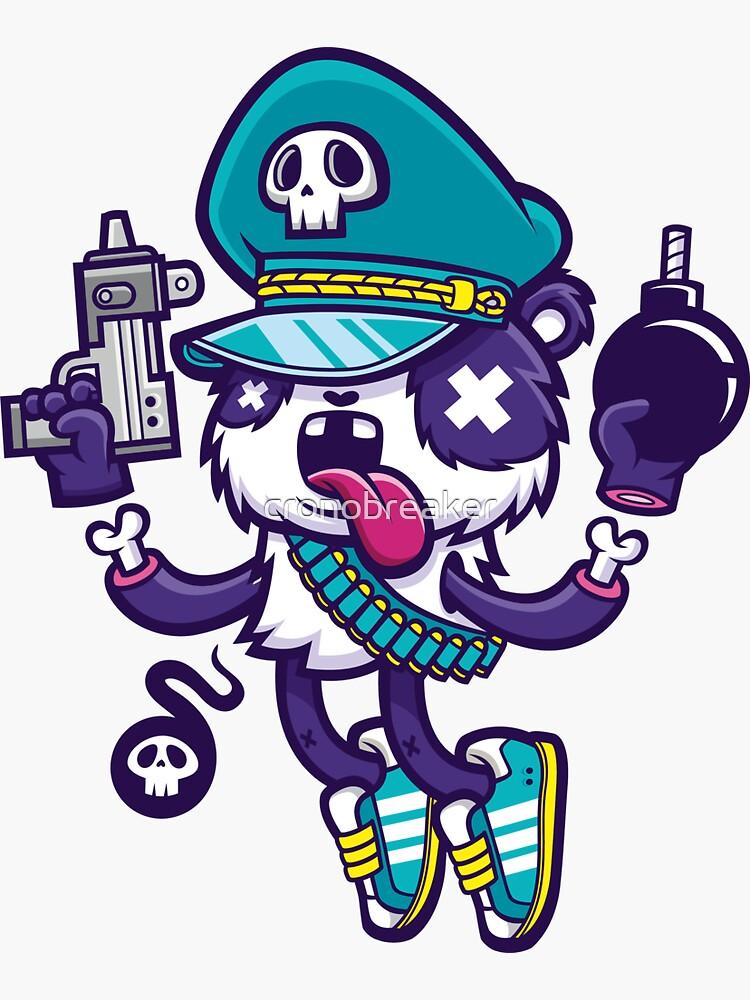 Panda Warrior by cronobreaker