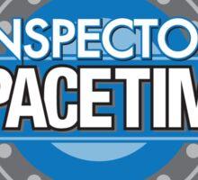 Inspector Spacetime Sticker Sticker