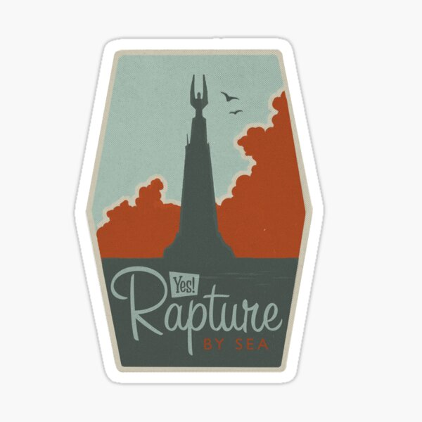 RAPTURE - Gaming Luggage Labels Series Sticker